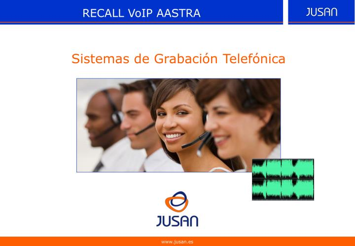 RECALL VoIP AASTRA