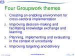 four groupwork themes