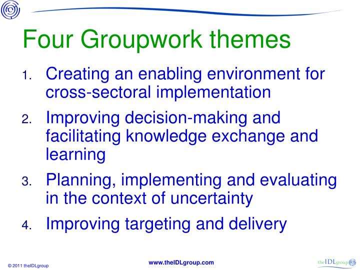 Four Groupwork themes