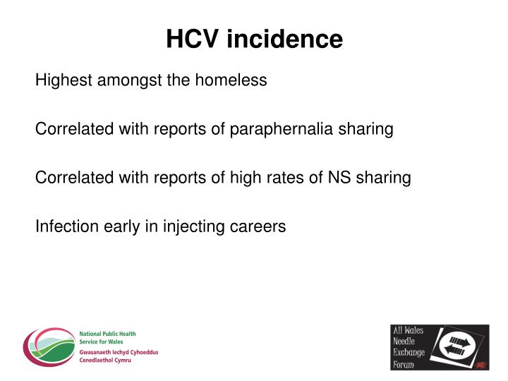 HCV incidence