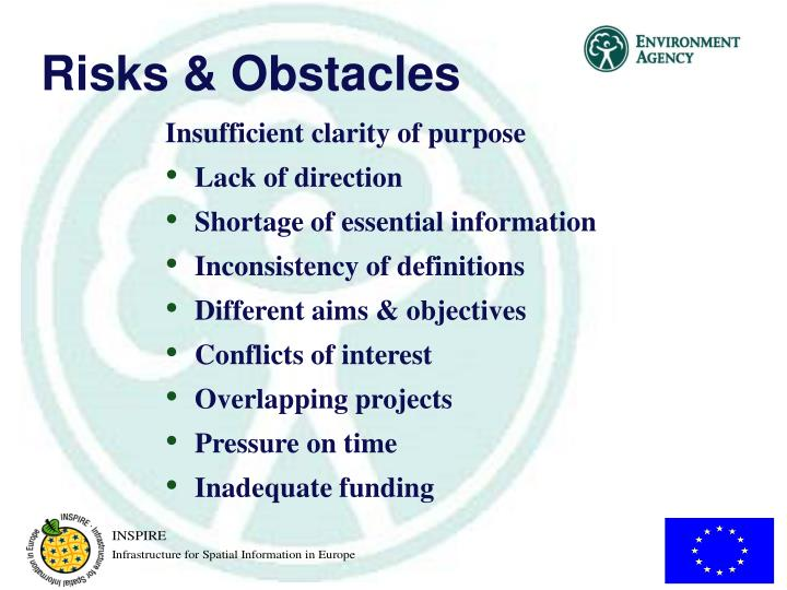 Risks & Obstacles