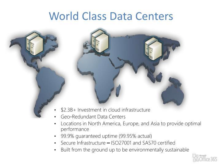 World Class Data Centers
