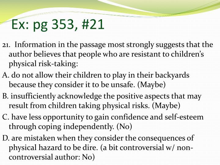 Ex: pg 353, #21