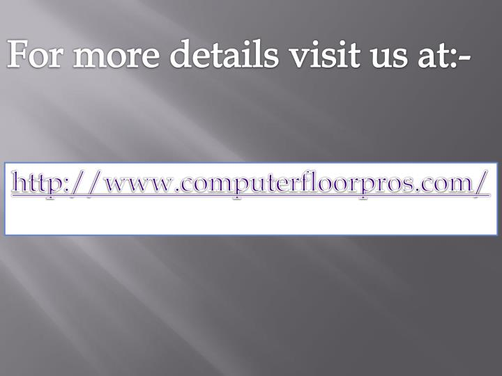 For more details visit us at:-