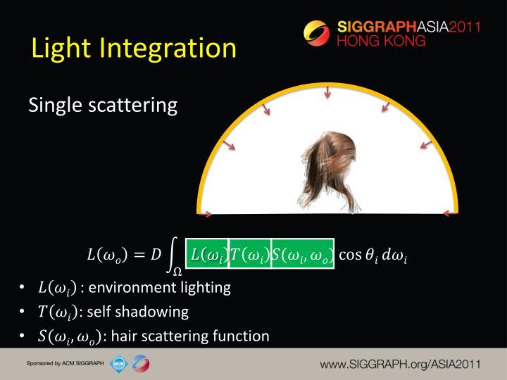 Light Integration