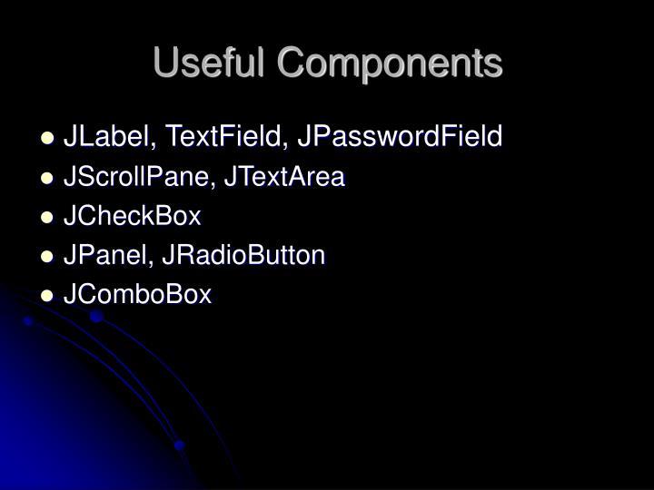 Useful Components
