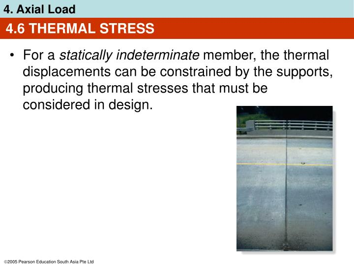 4.6 THERMAL STRESS