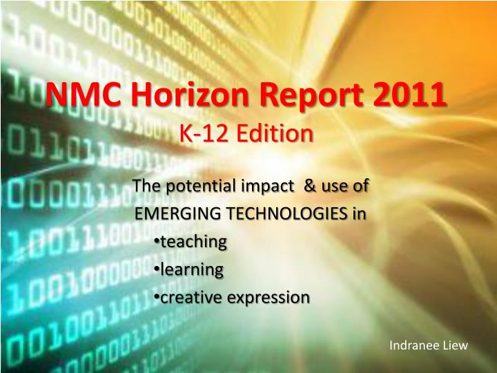 Nmc horizon report 2011 k 12 edition