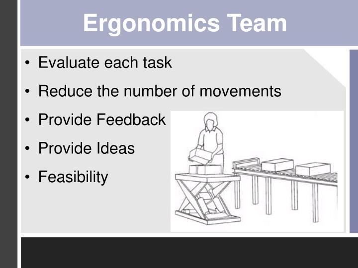 Ergonomics Team