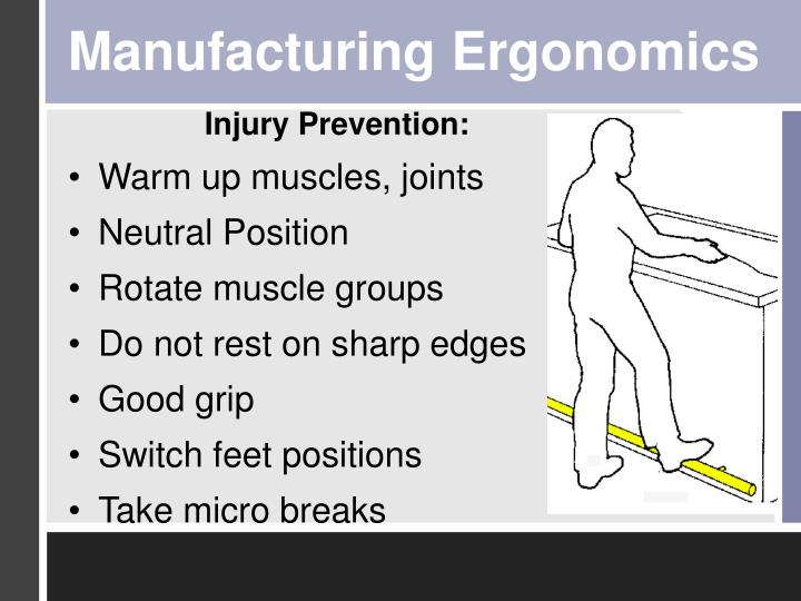 Manufacturing Ergonomics