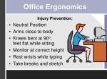 office ergonomics1