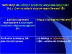 interakcje doustnych rodk w antykoncepcyjnych a z r wnocze nie stosowanymi lekami b3