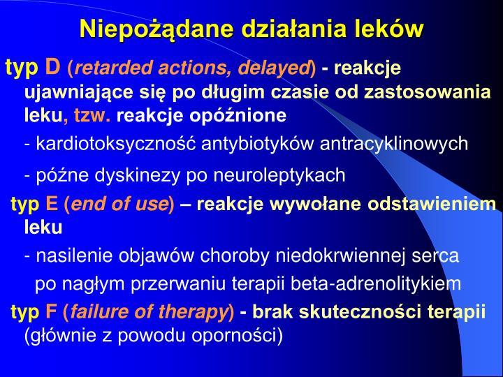 Niepożądane działania leków