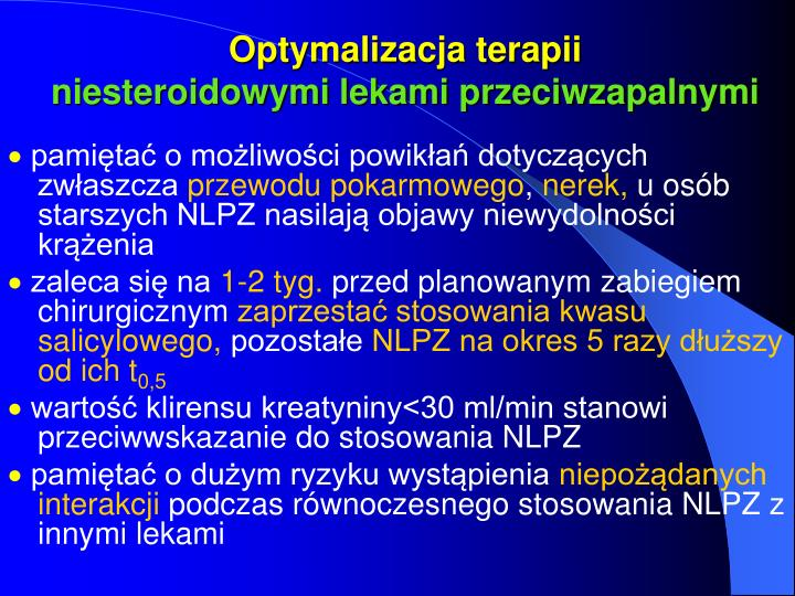 Optymalizacja terapii