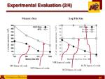 experimental evaluation 2 4