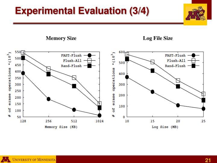 Experimental Evaluation (3/