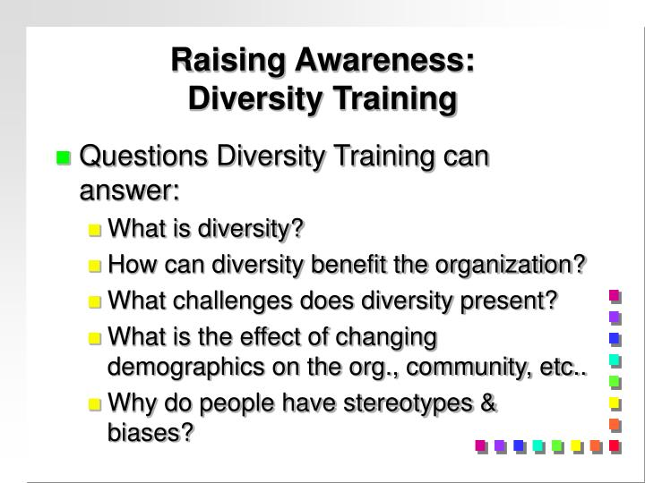 Raising Awareness: