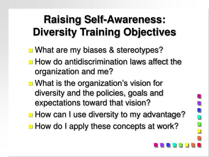 Raising Self-Awareness: