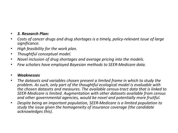3. Research Plan: