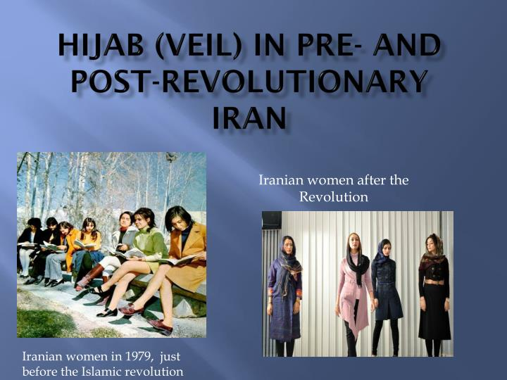 Hijab (Veil) in Pre- and
