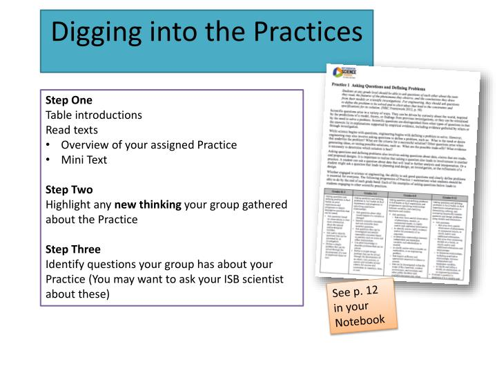 Digging into the Practices