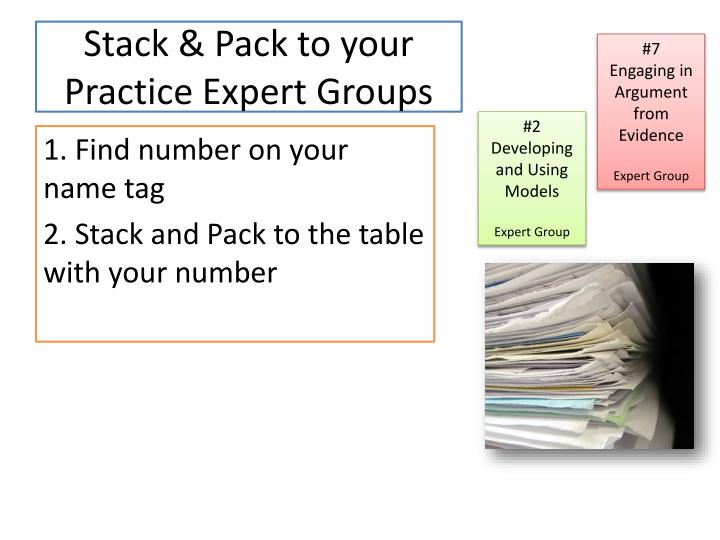 Stack & Pack