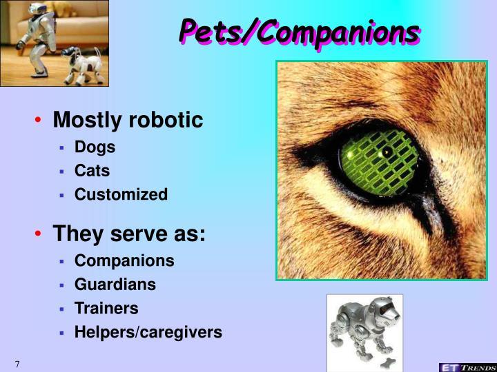Pets/Companions