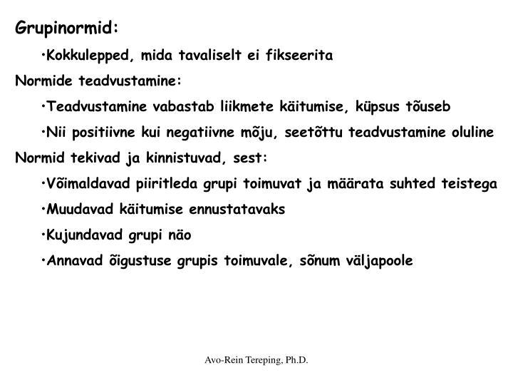 Grupinormid: