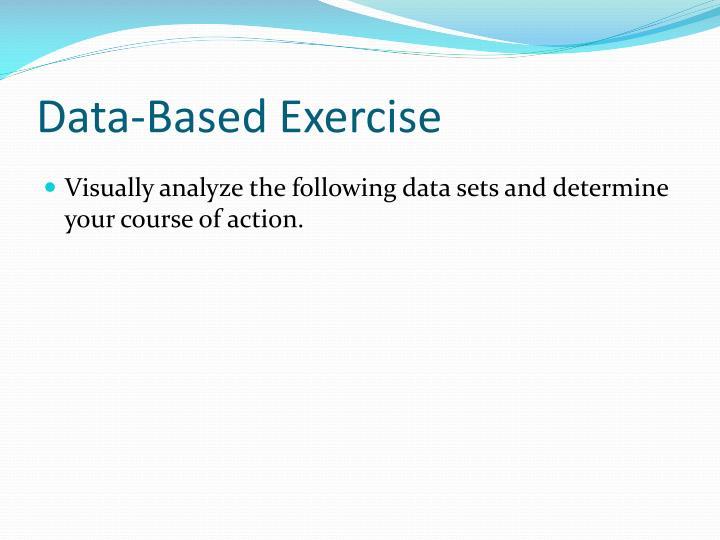 Data-Based Exercise