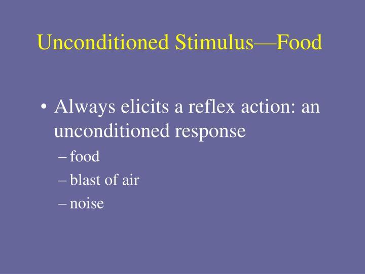 Unconditioned Stimulus—Food