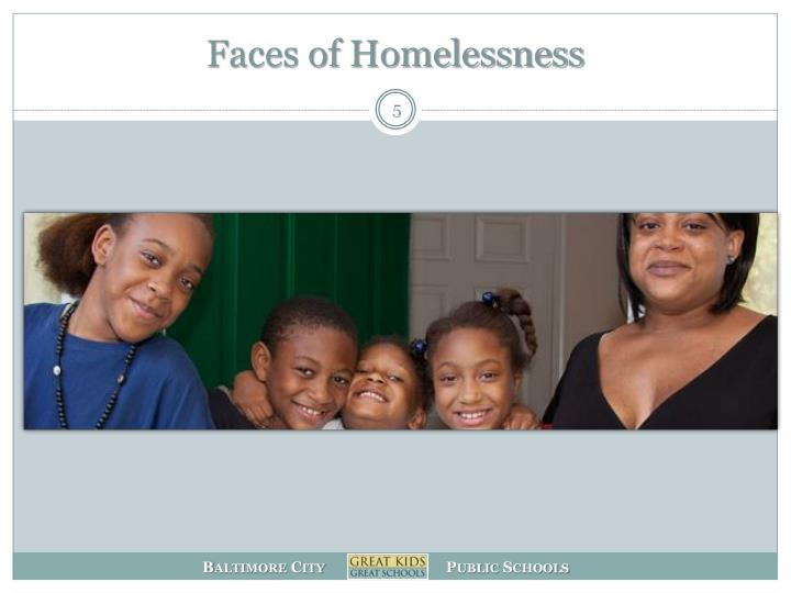 Faces of Homelessness