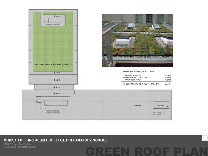 MODULAR GREEN ROOF TRAY SYSTEM
