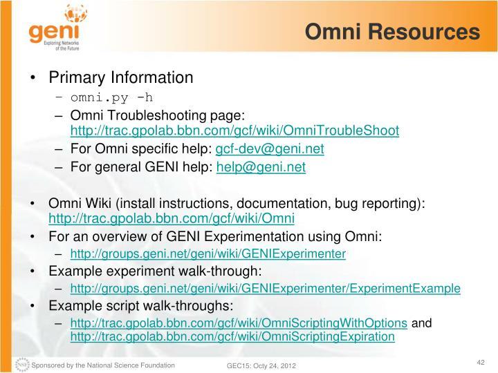 Omni Resources