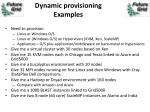 dynamic provisioning examples