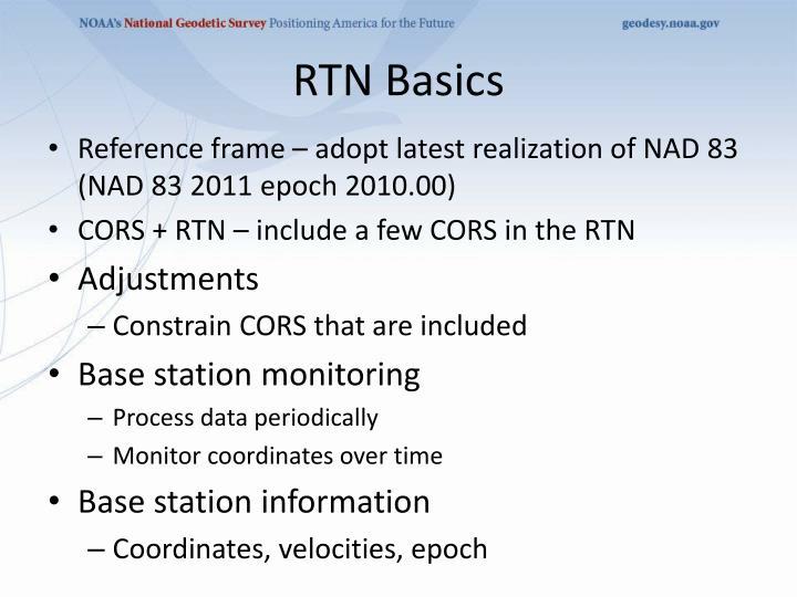 RTN Basics