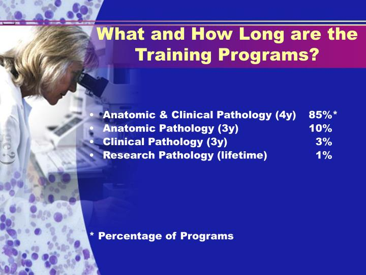 What and How Long are the Training Programs?