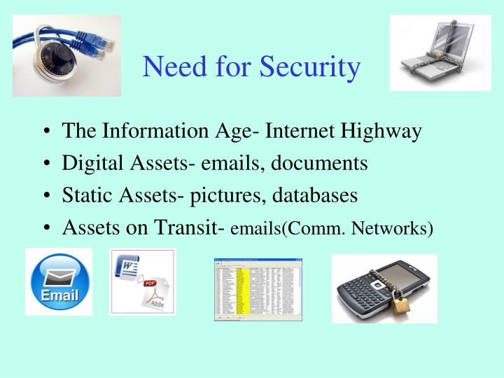 Need for Security