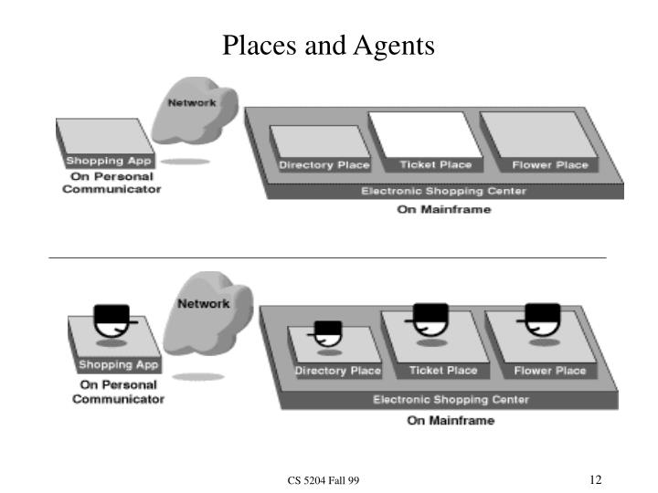 Places and Agents