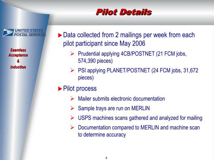 Pilot Details
