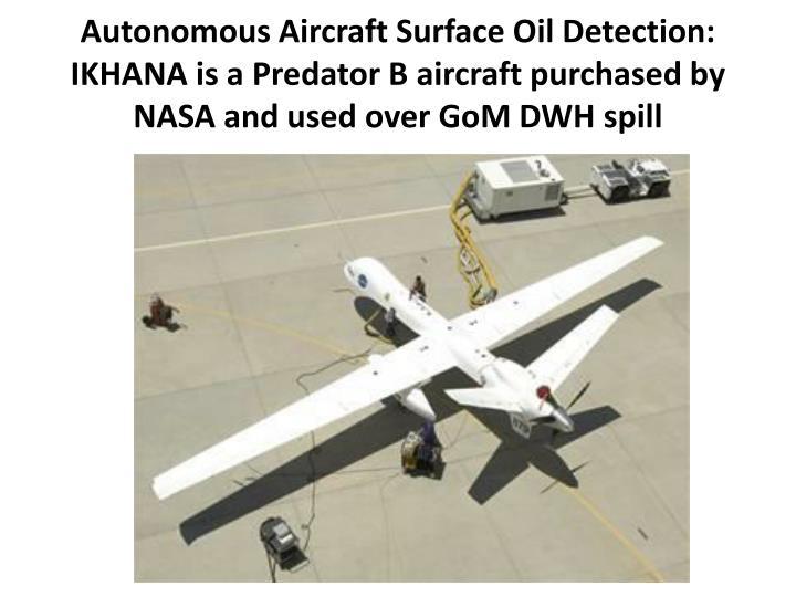 Autonomous Aircraft Surface Oil Detection: