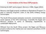 7 interrelation of the three csp projects