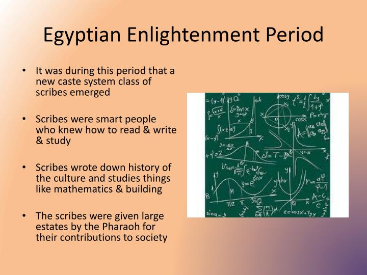 Egyptian Enlightenment Period