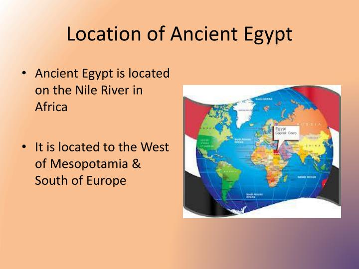 Location of Ancient Egypt