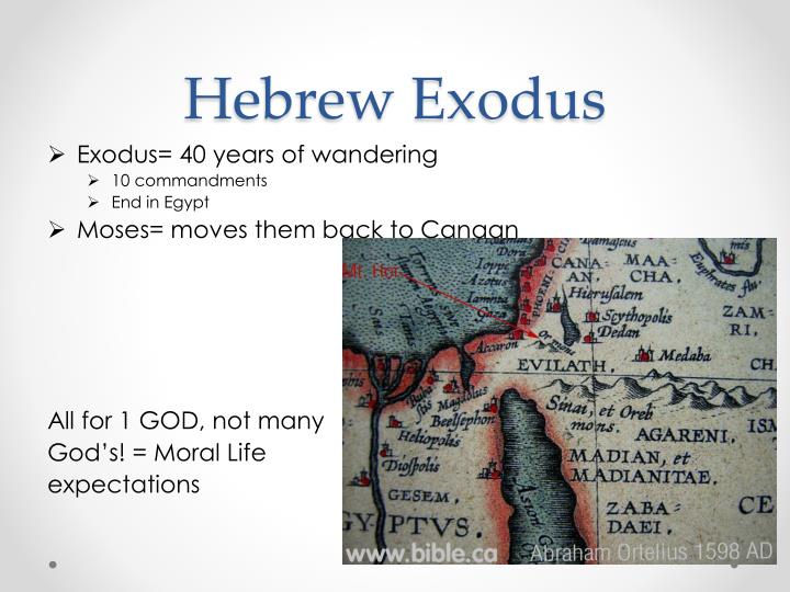 Hebrew Exodus