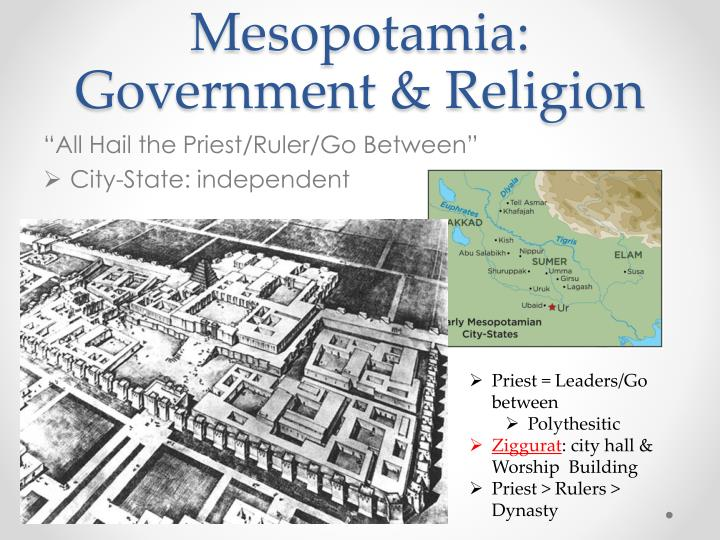 Mesopotamia: Government & Religion