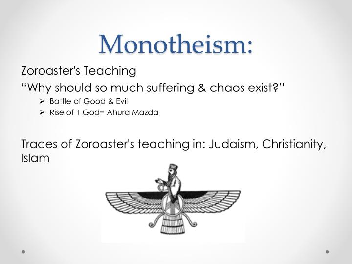 Monotheism: