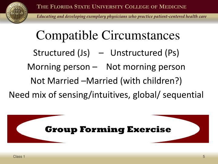 Compatible Circumstances
