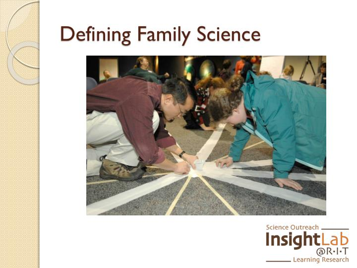 Defining Family Science