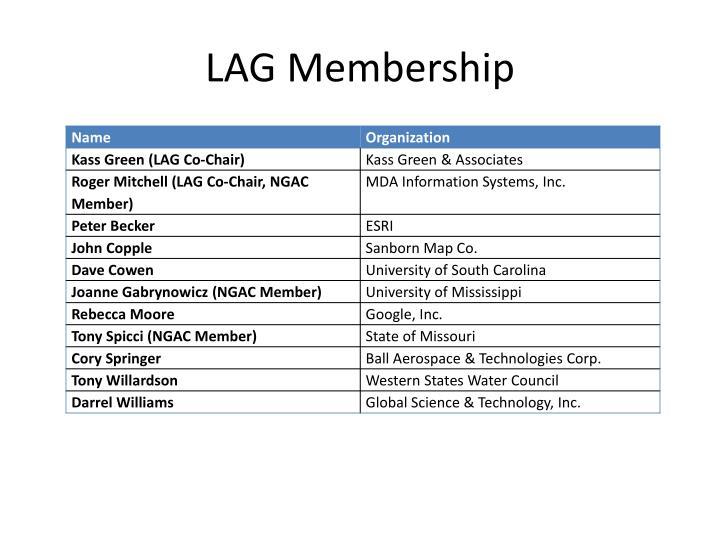 LAG Membership