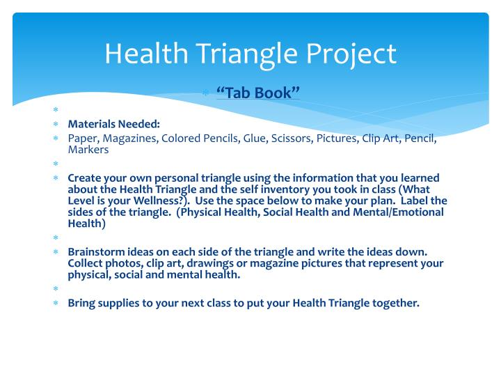 Health Triangle Project